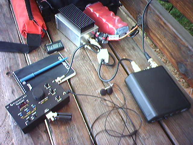 KX1 Z100 HFPacker Amp