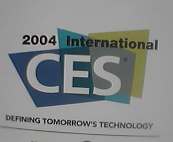 live blogging from the 2004 Consumer Electronics Show in Las Vegas